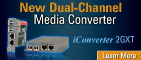 New Dual Channel Media Converter iConverter 2GXt